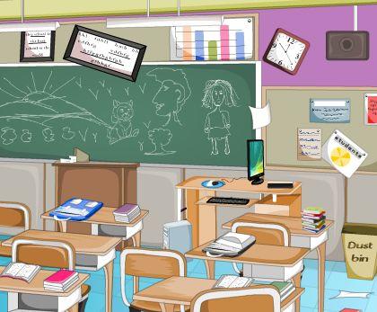 Игра Уборка в классе онлайн