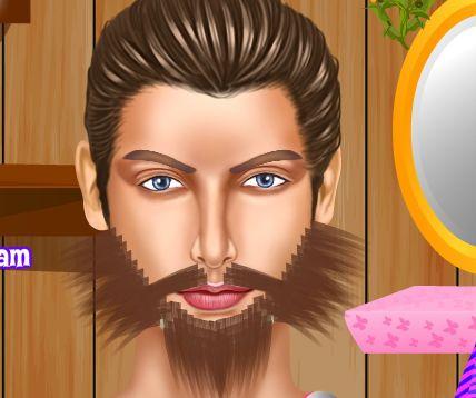 Игра Стрижка бороды онлайн