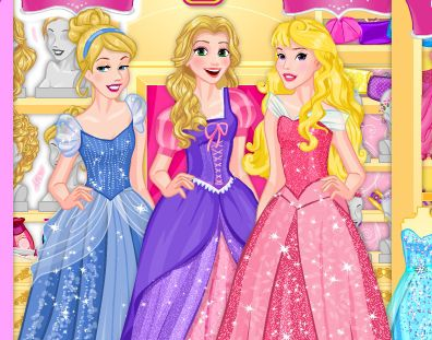 Игра Шопинг принцесс Диснея к выпускному онлайн