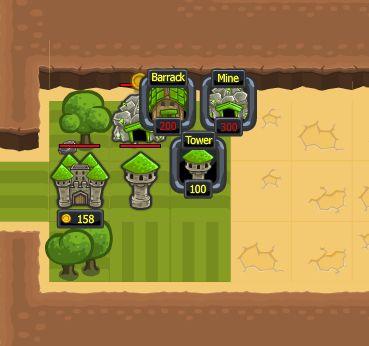 Игра Защити зеленое королевство онлайн