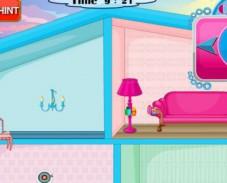 Игра Оформление кукольного домика онлайн