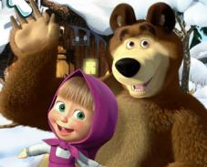 Игра Маша и медведь – Скрытые объекты онлайн