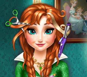 Игра Салон парикмахерская Анны онлайн