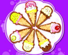 Игра Готовить мороженое онлайн онлайн