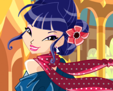 Игра Одевалка Музы — 5 сезон онлайн