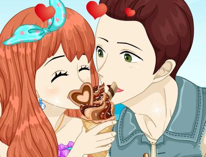 Игра Аниме мороженое онлайн