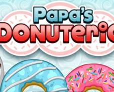 Игра Пончики Папы Луи онлайн
