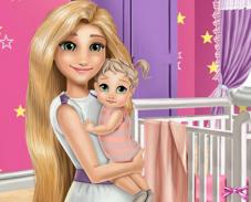 Игра Комната мамы Рапунцель онлайн