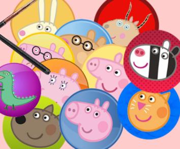 Игра Бильярд свинки Пеппы онлайн