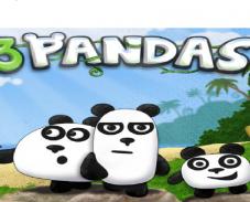 Игра 3 панды онлайн