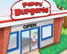 Игра Бургеры Папы Луи онлайн