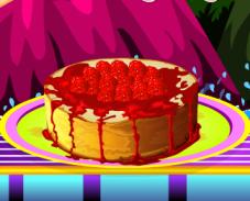 Игра Вкусный малиновый чизкейк онлайн