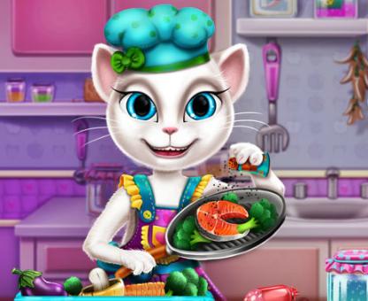 Игра Реальная готовка Анжелы онлайн
