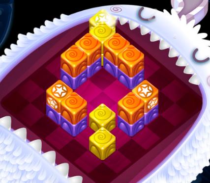 Игра Кубики пазлы онлайн