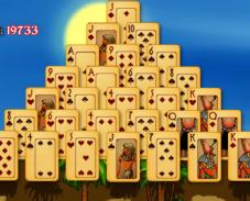Игра Пасьянс пирамида онлайн