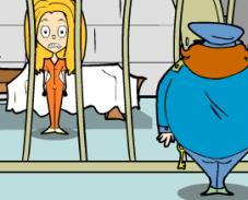 Игра Побег из тюрьмы девочки онлайн