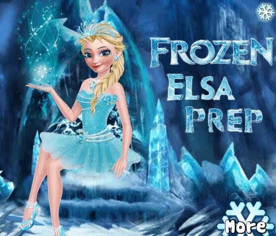 Игра Ледяная Эльза онлайн