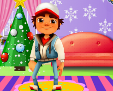 Игра Ёлка Subway Surfers онлайн