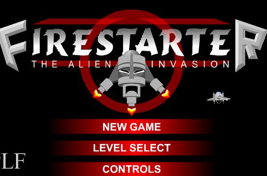 Игра Поджигатель против инопланетного вторжения онлайн