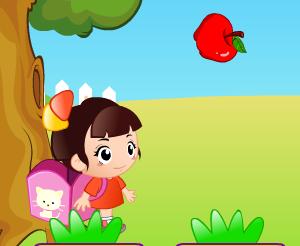 Игра Поймай яблоко онлайн