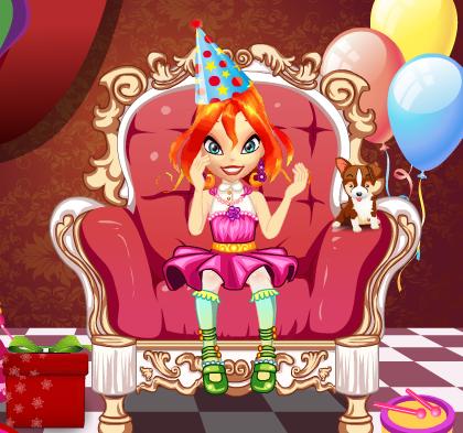 Игра День Рождения для девочек онлайн
