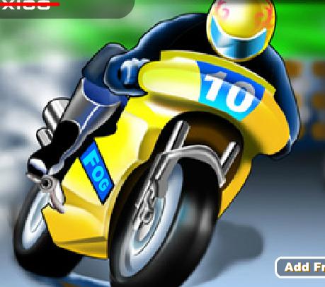 Игра Мотогонщики онлайн