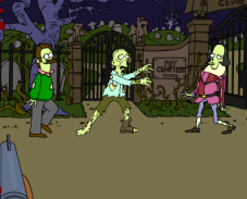 Игра Зомби Симпсоны онлайн