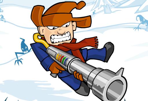Игра Снежная пехота онлайн