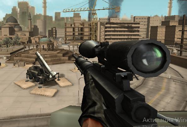 Игра Стрельба из снайперской винтовки онлайн