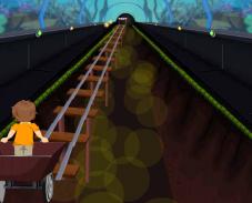 Игра Езда на вагонетке онлайн