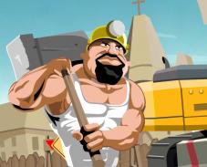 Игра Стычка между строителями онлайн