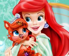 Игра Питомцы принцессы Ариэль онлайн