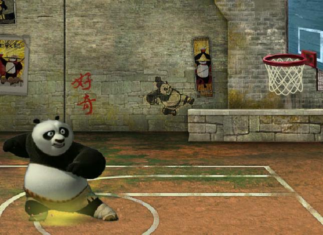 Игра Кунг-Фу панда – Баскетбольное состязание онлайн