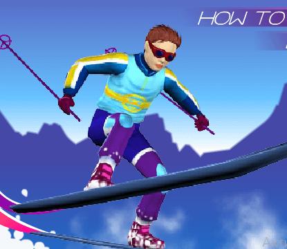 Игра Лыжный слалом онлайн