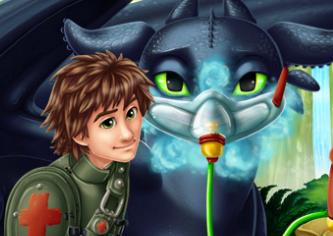 Игра Беззубику нужен доктор онлайн