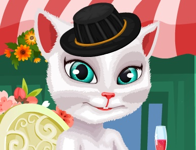 Игра Говорящая Кошка Анжела онлайн