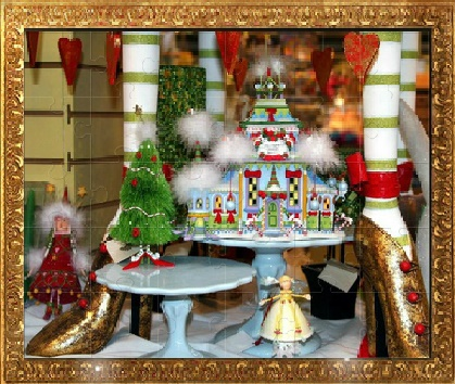 Игра Рождественские Пазлы онлайн