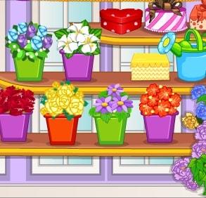 Игра Цветочный Магазин Барби онлайн