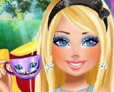 Игра Барби в Стране Чудес онлайн