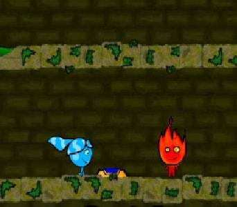 Игра Огонь и Вода в Лесном Храме 3 онлайн