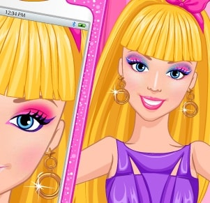 Игра Образ Барби для Селфи онлайн