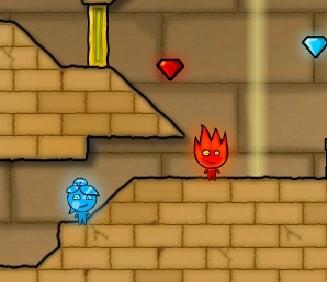 Игра Огонь и Вода 2: Светлый Храм онлайн