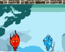 Игра Огонь и Вода: Холодные Приключения онлайн