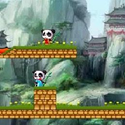 Игра Огонь и Вода: Панды - играй онлайн