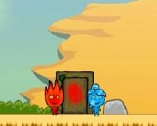 Игра Огонь и Вода В Пустыне онлайн