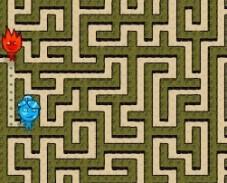 Игра Огонь и Вода в Лабиринте онлайн