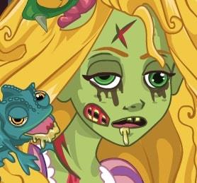 Игра Рапунцель: Зомби Проклятие онлайн