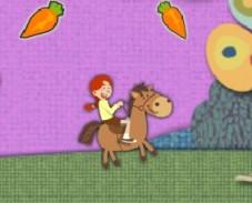 Игра про Лошадей Бродилки онлайн