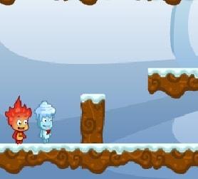 Игра Приключения Супер Мальчика Огня онлайн