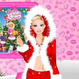 Игра Барби: Модная Снегурочка онлайн